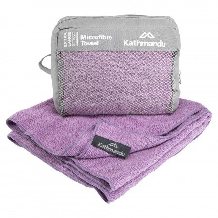 Microfibre Towel - Pouch v2 - Purple