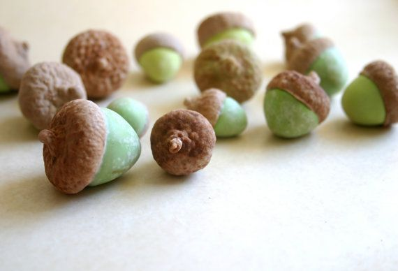 Edible Chocolate Cocoa Bean Candy Acorns by andiespecialtysweets, $35.00Wedding Favors, Candies Acorn, Cupcakes Toppers, Cake Food, Chocolates Acorn, Scrabble Tile, Beans Candies, Chocolates Cocoa, Edible Acorn