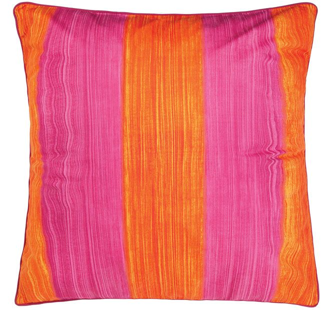 Cathie Maney Free Spirit European Pillowcase Orange
