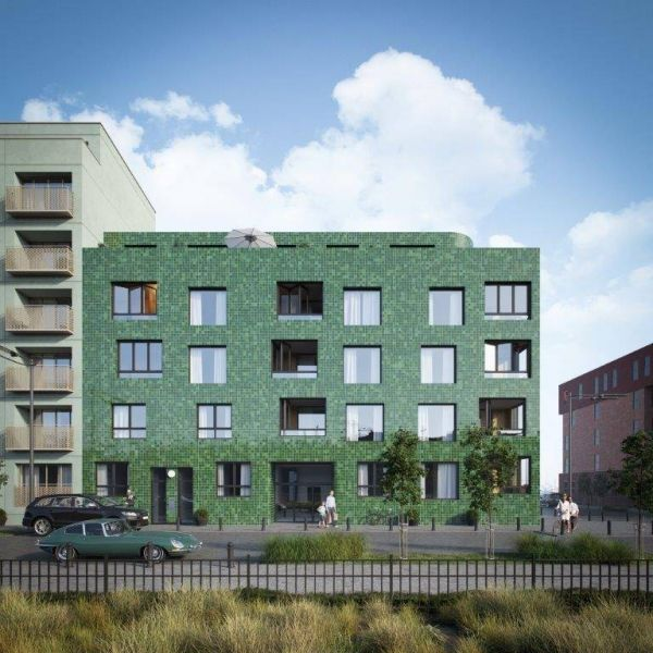 Penthouse te koop in Antwerpen - 3 slaapkamers - 106m² - 540 000 € - Logic-immo.be - Penthouse appartement met frontaal zicht op het water en binnentuin met 71 m² terrassen aan voor en achterkant. KAAI 37 staat gelijk aan duurzaam wonen met een minimum aan energieverbruik aan de Jacht...