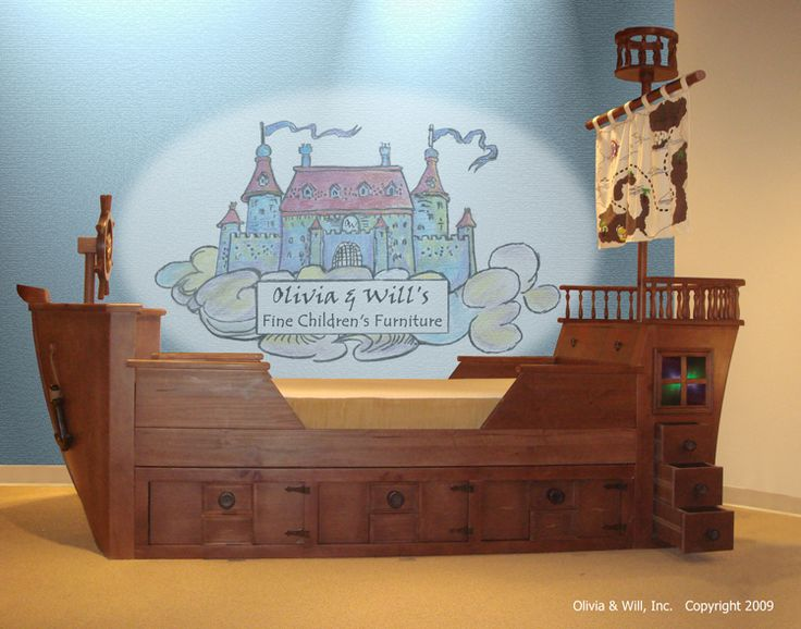 Pirate bed...oh my!
