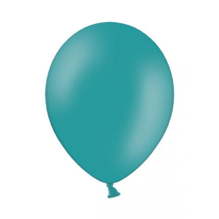 Luftballon Hochzeitsdeko rund 28cm türkis pearl