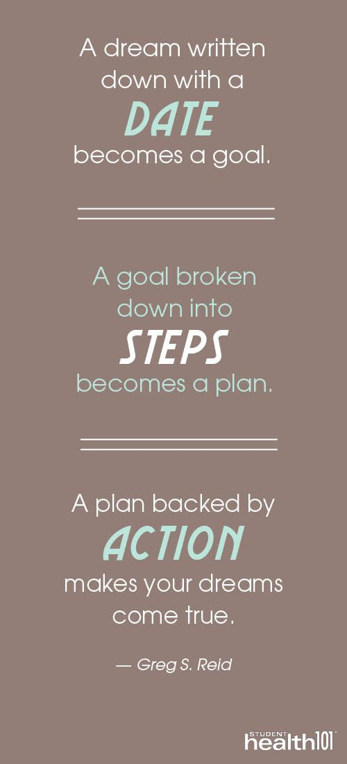 To achieve clarity an outcome must be accompanied by a plan. Then action is necessary to make it realized.