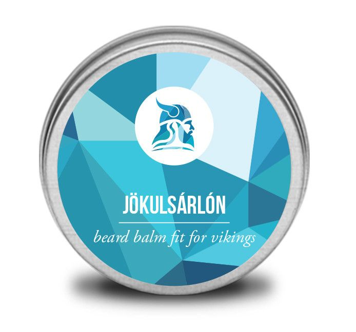 """This beard balm gets its name from one of the coolest places in Iceland, Jökulsárlón which literally means """"glacial river lagoon"""". The lagoon is ever changing because of the melting of the glaciers. A bit like the smell of this beard balm which has subtle changes throughout the day, from a masculine wood scent to sweet lemon smell."""