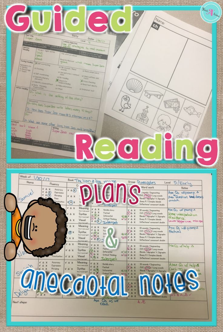 Guided Reading Lesson Plan Template A 1st Grade Resources