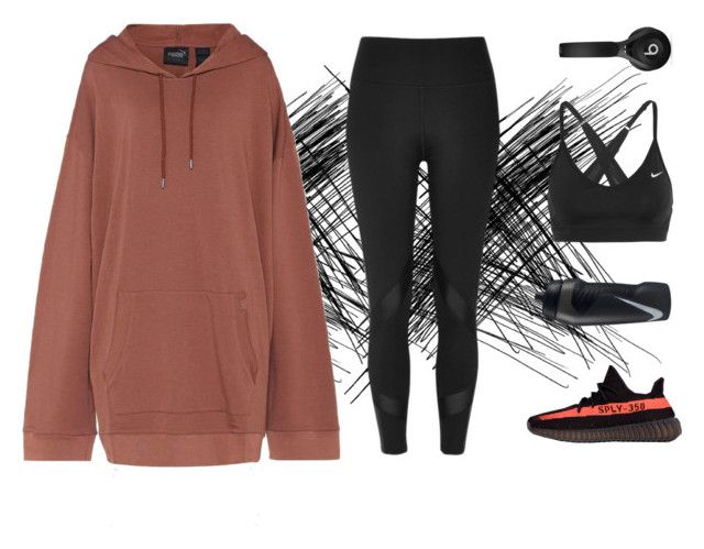 """""""sweat"""" by holaallyy on Polyvore featuring Puma, River Island, adidas, Beats by Dr. Dre and NIKE"""