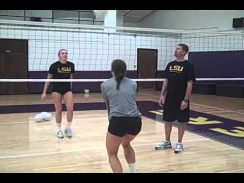 Playing balls into/out of/around the net--would be good for spring sessions w/all positions