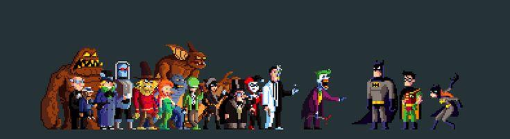 Batman: The Animated Series   Pixel Art