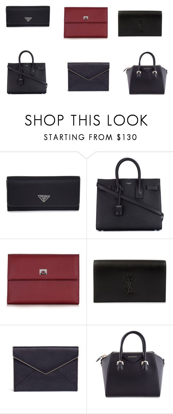 """""""classik"""" by ivanova-cawa on Polyvore featuring мода, Yves Saint Laurent, Pineider, Rebecca Minkoff и Givenchy"""