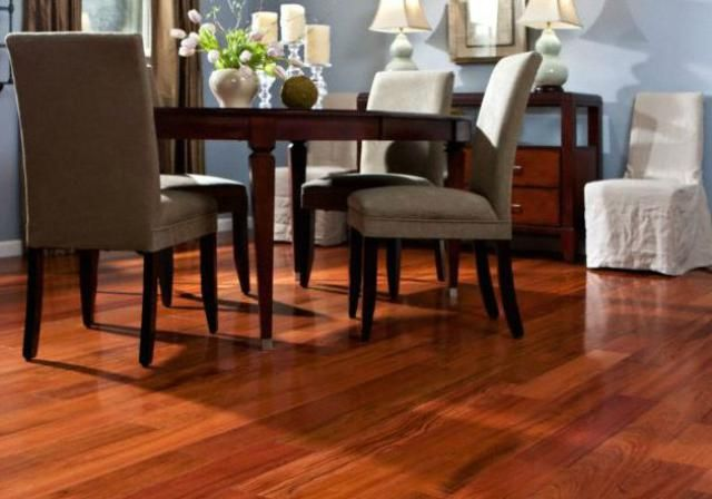 See Why Brazilian Cherry Flooring Still Lights Hearts on Fire: Price Range: Brazilian Cherry Flooring