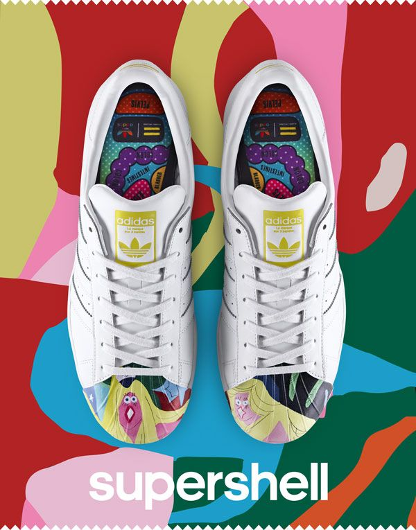 pharrell x adidas originals superstar 39 supershell 39 sneakers adidas superstar pinterest. Black Bedroom Furniture Sets. Home Design Ideas