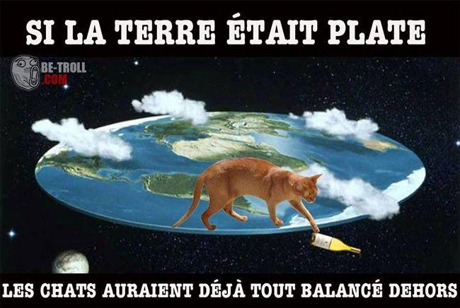 La preuve que la Terre n'est pas plate... - Be-troll - vidéos humour, actualité insolite