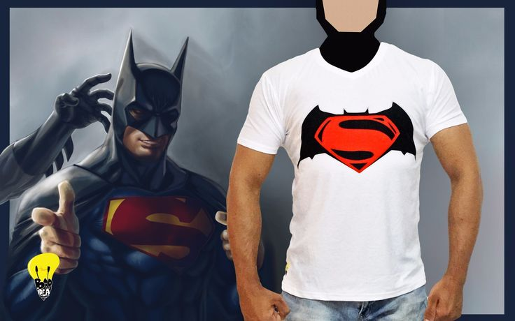 Bad idea tshirt Batman v Superman