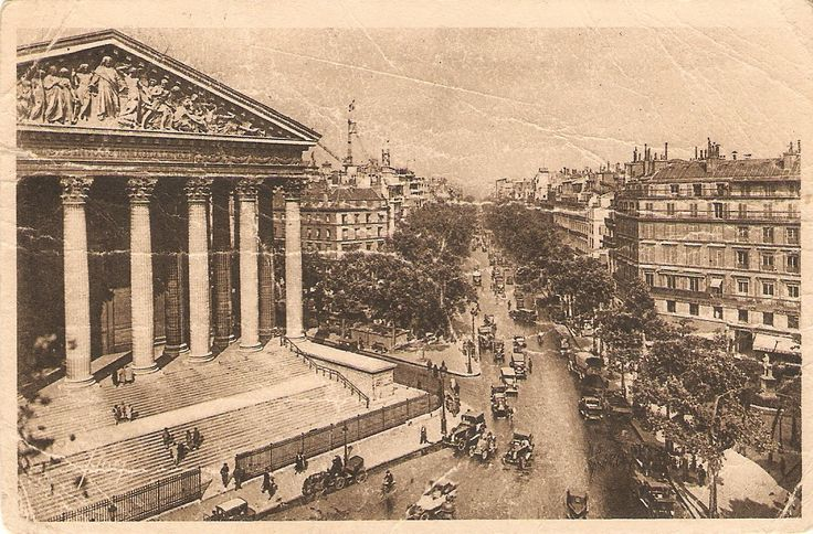 Paríž 30.roky minulého storočia