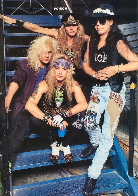 Poison (original lineup, WITH cracked out cece deVil)