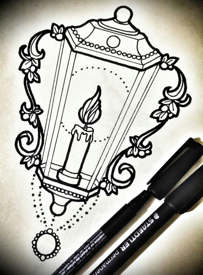 Neo traditional lantern