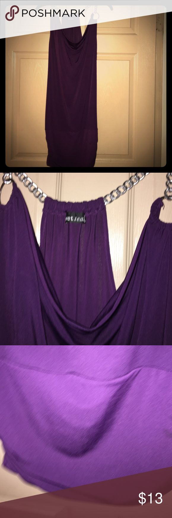 MAKE AN OFFER‼️Wet Seal Party Dress Size Small MAKE AN OFFER‼️Wet Seal Party Dress Size Small Plum Excellent Condition Wet Seal Dresses Mini