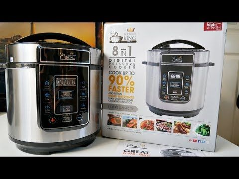 Pressure King Pro 3 Litre 8-in-1 Digital Electric Pressure Cooker, 700W Unboxing - YouTube