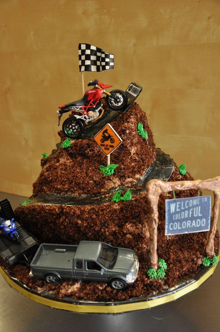 dirtbike cake - Google Search