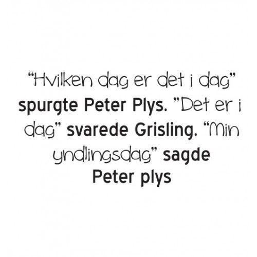 peter plys citat - Google-søgning
