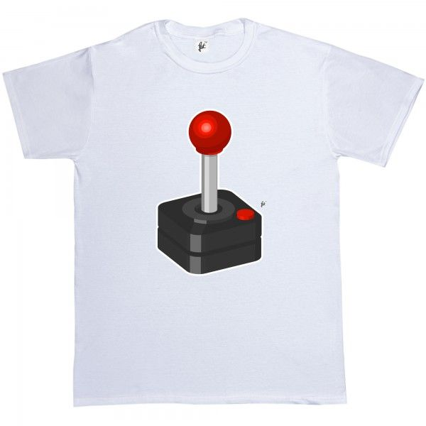 T-Shirt Retro Joystick Old School Cult Classic Geek Gamer - Fancy A T-Shirt