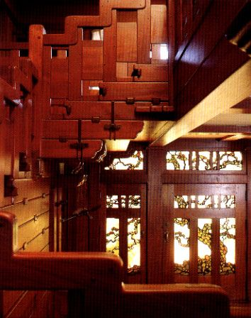 From The Gamble House Pasadena California The Stairway Is One Of The Most