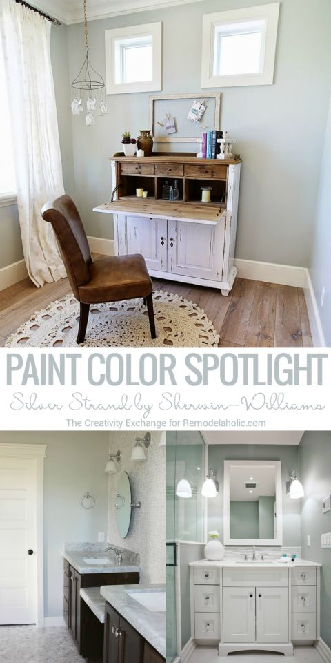 Color Spotlight: Silver Strand by Sherwin-Williams – Remodelaholic