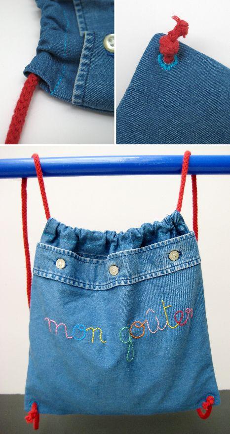 Un bricolage facile à faire avec les enfants - le sac à gouter - Grandir avec Nathan