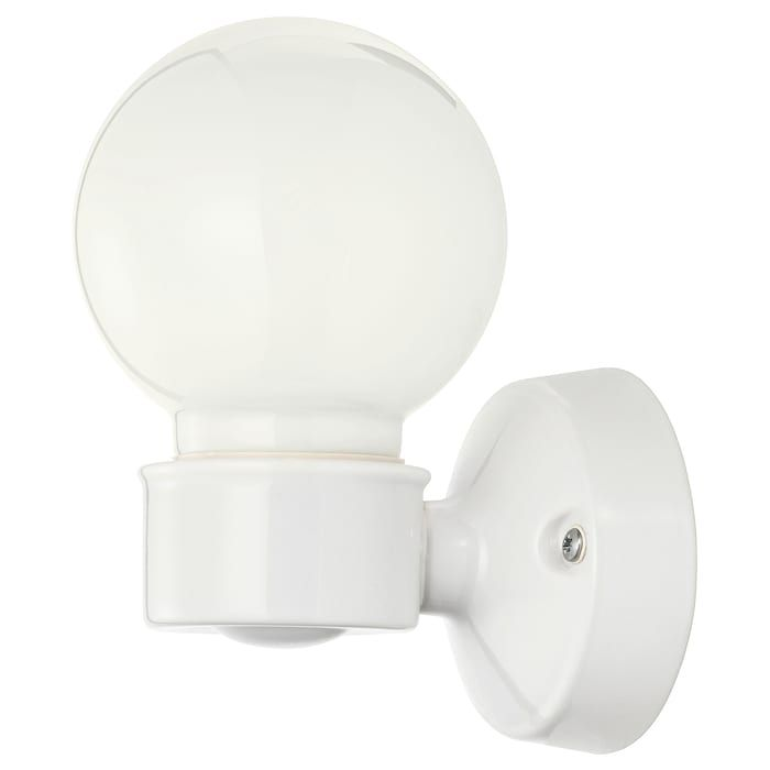 Vitemolla Wall Lamp Porcelain Stoneware Ceramic Glass Ikea Verre Ikea Gres Cerame Ikea