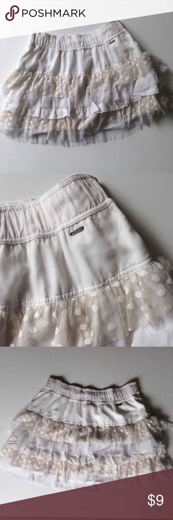 Hollister tiered skirt, size M Gorgeous skirt with elastic waist, size M. Hollister Kids Bottoms Skirts