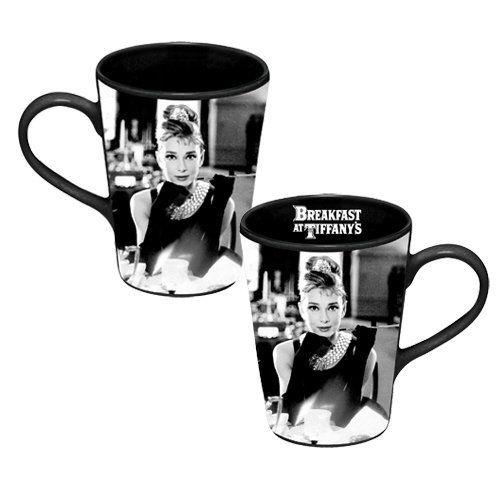 Idealne kubki na herbatę LiptonVandor 92062, Black And White, Hepburn Ceramics, Breakfast At Tiffanys, Ceramic Mugs, Audrey Hepburn, Bridal Shower, 92062 Audrey, Ceramics Mugs