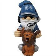 Detroit Lions Gnome my garden NEEDS this!!