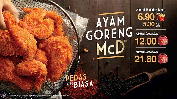 Spicy Chicken Mcdonalds Kenalkan Menu Ayam Baru Makanan Ayam Ayam Goreng