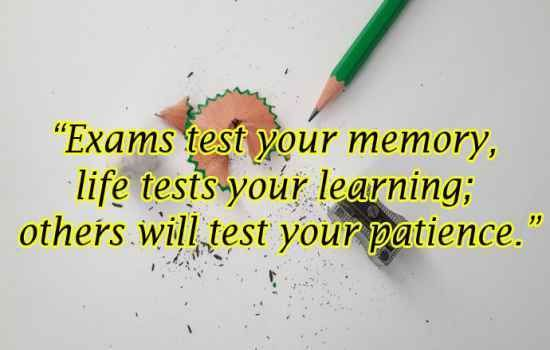 Exam Quotes Good Luck For Exam
