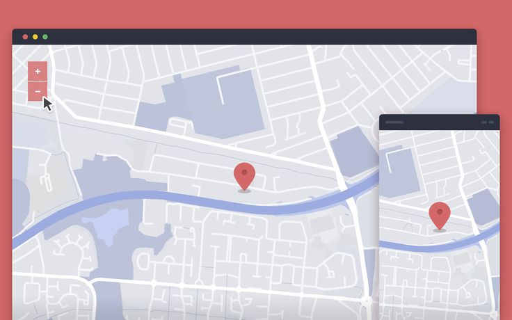Custom Google Map | UI Design Elements Inspiration