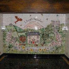Countryside Kitchen Cooker Splashback Mural