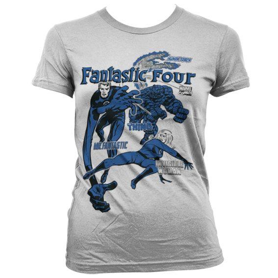 Marvel Fantastic Four Koszulka Damska
