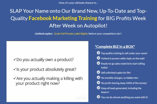 Facebook Marketing 3.0 Biz In A Box Monster Plr By Amit Pareek is Step-By-Step Facebook Marketing Exclusive Training To Helps You To Make More Money With The Correct Way And Get Big Profits Week After Week On Autopilot and Include Best PLR Package in the Form Ebook, Audio And Video Training High Quality.  #facebook #marketing #facebookmarketing #internetmarketing #FacebookTraining