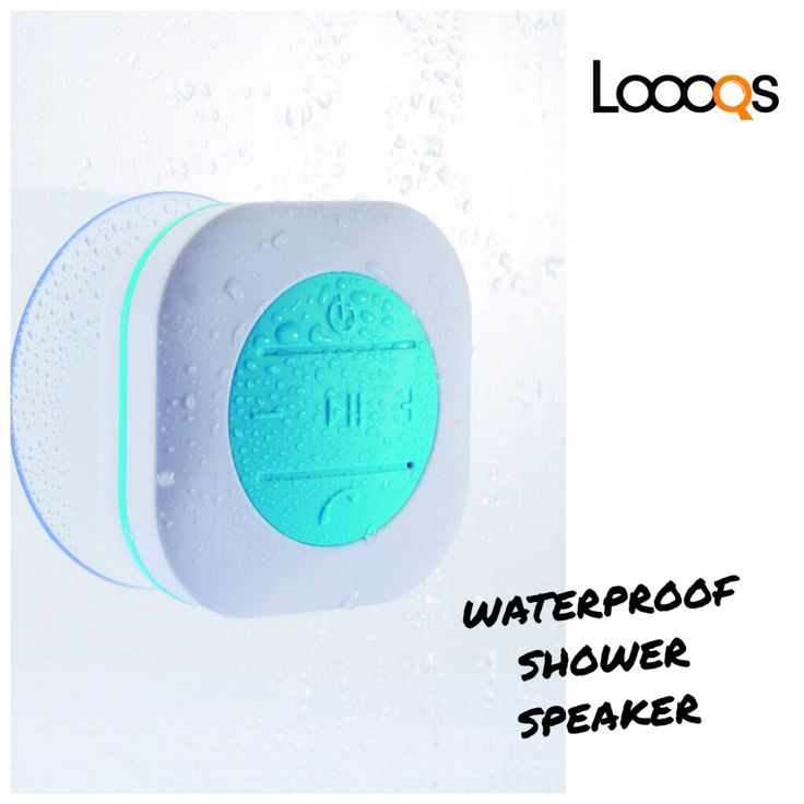 Loooqs Waterproof Shower Speaker