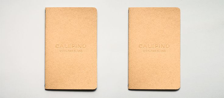 Calepino large blank notebooks