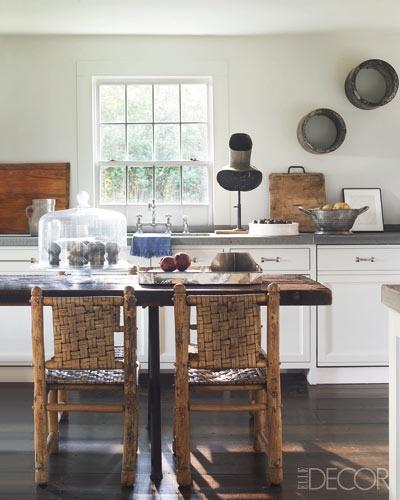 Hamptons kitchen - a delightful mix