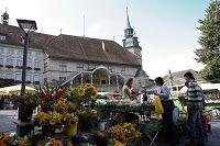 Morgens um sieben ist die Welt (noch) in Ordnung © Fribourg Tourisme / Christoph Schütz