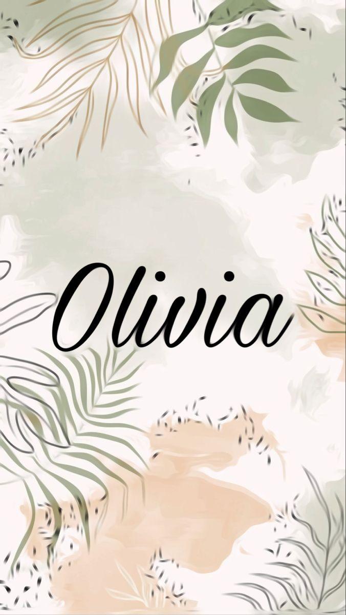 Olivia Custom Wallpaper Phone Wallpaper Wallpaper
