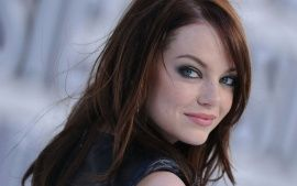 Download Emma Stone Lovely Smile Wide HD Wallpapers From High Quality Resolution