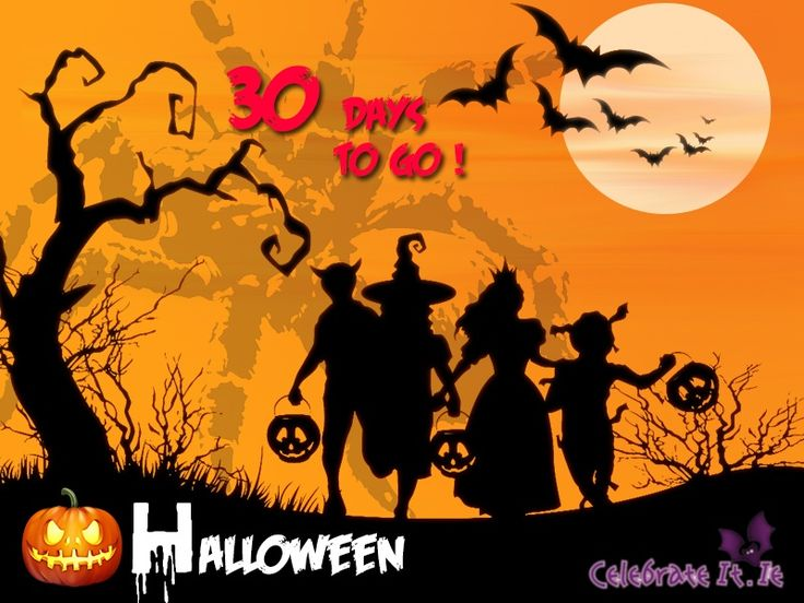 The Halloween Countdown is on! Time to start the Halloween party ...