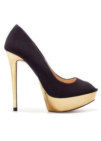 Zara platform peep-toe heelsPlatform Heels, Platform 30, Zara Platform, Platform Peep To, Metals Platform, Zara Peep