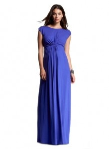 Fashion For Pregnant Women   The Ruched Wrap Maternity T