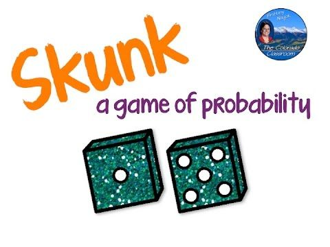 "In a quick two minute video, learn how to play ""Skunk"", a game based on probability, great for the math classroom."