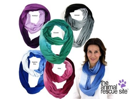 Image of Ombre Infinity Scarf