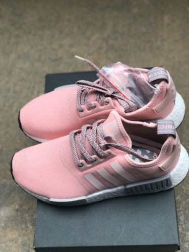 e7989a420a380 Adidas NMD R1 Runner Vapor Pink Light Onix Grey Offspring BY3059 Women s